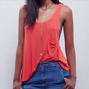 NWT Free People Hot Pocket Tank Top Size XS